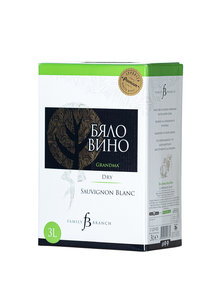 Бяло Вино  Branch Family bag in box 3л.