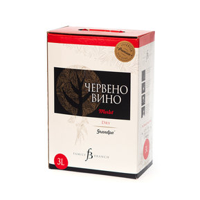 Червено Вино Branch Family  Мерло bag in box 3л